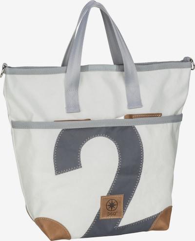 360 Grad Handtasche 'Deern Mini' in braun / anthrazit / hellgrau, Produktansicht