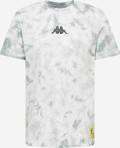 Tricou funcțional 'IVES' KAPPA pe gri bazalt / alb, Vizualizare produs