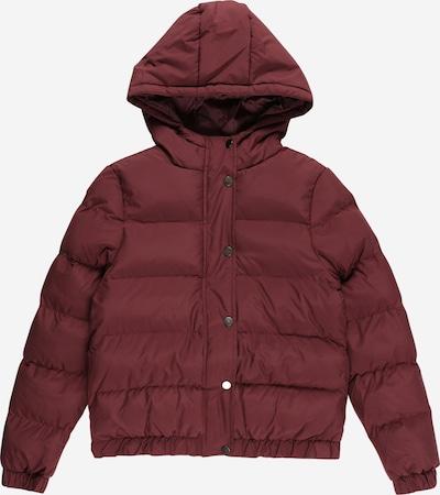 Urban Classics Kids Winterjas in de kleur Kersrood, Productweergave