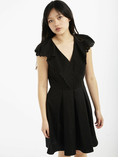 NAF NAF Kleid 'Palais' in schwarz, Modelansicht