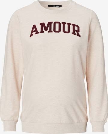 Supermom Sweater 'Amour' in Beige
