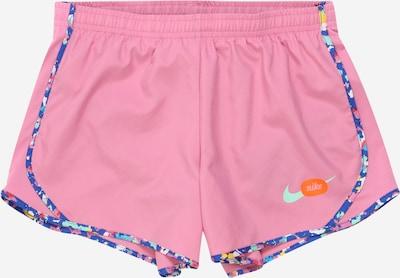 NIKE Sportovní kalhoty 'Tempo' - námořnická modř / tyrkysová / mix barev / tmavě oranžová / světle růžová, Produkt