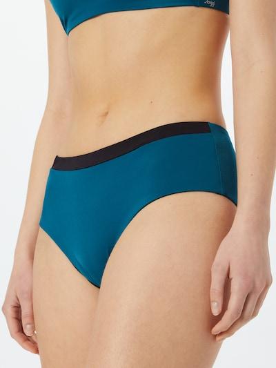 SLOGGI Bikinibroek in de kleur Petrol / Zwart, Modelweergave