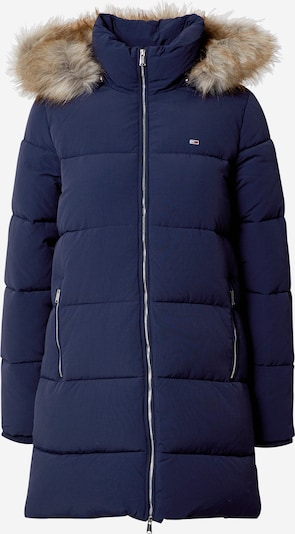 Tommy Jeans Wintermantel 'Modern Puffa' in beige / navy, Produktansicht