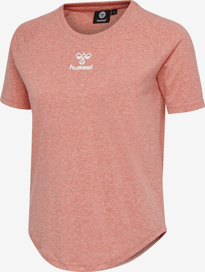 Hummel T-shirt S/S in weiß, Produktansicht