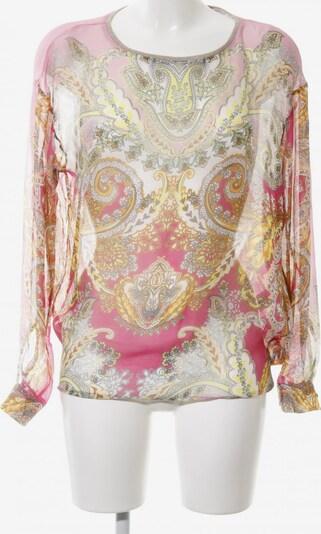 Max Volmáry Transparenz-Bluse in L in hellorange / pink / wollweiß, Produktansicht