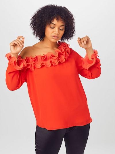 River Island Plus Blouse 'COURTNEY' in de kleur Rood, Modelweergave