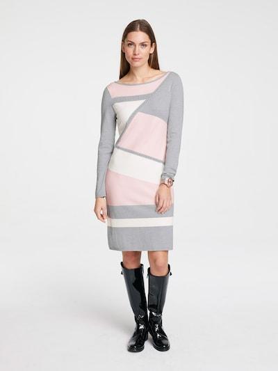 heine Šaty - sivá / svetloružová / biela, Model/-ka