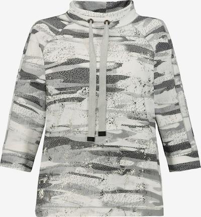 Gina Laura Sweatshirt '748033' in grau / silber / weiß, Produktansicht