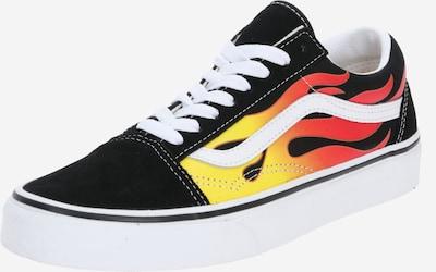 Sneaker bassa 'Old Skool' VANS di colore giallo / rosso fuoco / nero / bianco, Visualizzazione prodotti