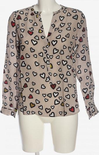 Flowers for Friends Hemd-Bluse in M in nude / schwarz / weiß, Produktansicht