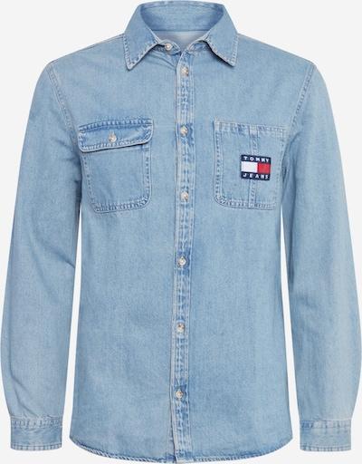 Tommy Jeans Chemise en bleu denim, Vue avec produit