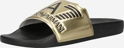 EA7 Emporio Armani Чехли в злато / черно, Преглед на продукта