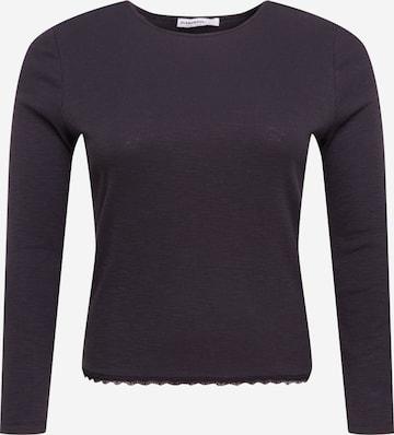 GLAMOROUS CURVE Shirt in Schwarz