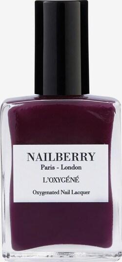Nailberry Nagellack 'L'Oxygéné Oxygenated' in aubergine, Produktansicht