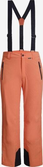 ICEPEAK Skihose 'Freiberg' in orange / schwarz, Produktansicht