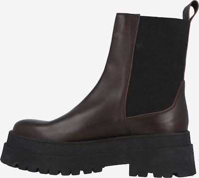 LeGer by Lena Gercke Chelsea Boots 'Joselyn' in kastanienbraun / schwarz, Produktansicht