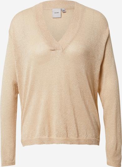ICHI Pullover in beige, Produktansicht