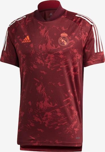 ADIDAS PERFORMANCE Trikot 'Real Madrid' in weinrot / weiß, Produktansicht