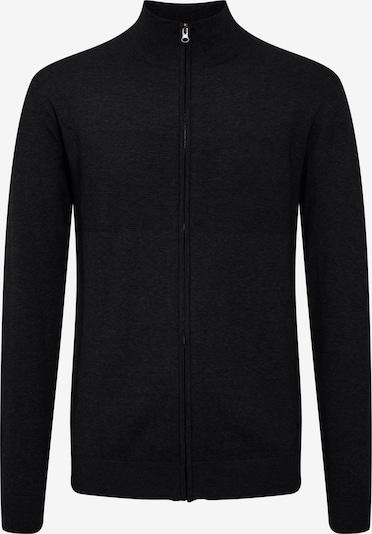 INDICODE JEANS Strickjacke 'Ernoldo' in schwarz, Produktansicht