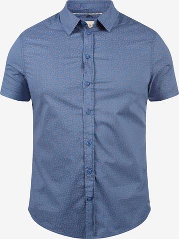 BLEND Kurzarmhemd Kurzarmhemd in Blau