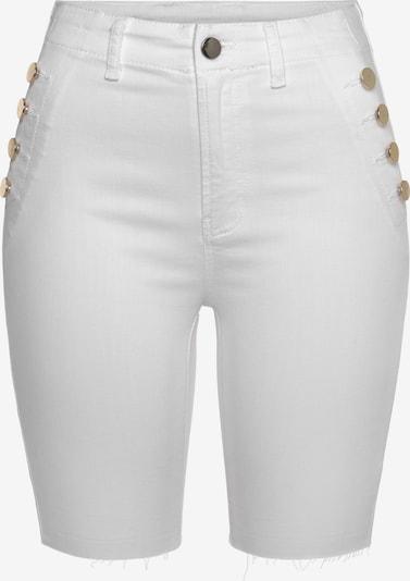 Jeans VIVANCE pe auriu / alb, Vizualizare produs