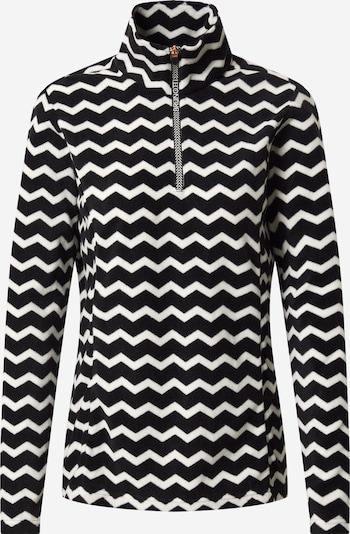 BRUNOTTI Sport-Pullover 'Misma' in schwarz / weiß, Produktansicht