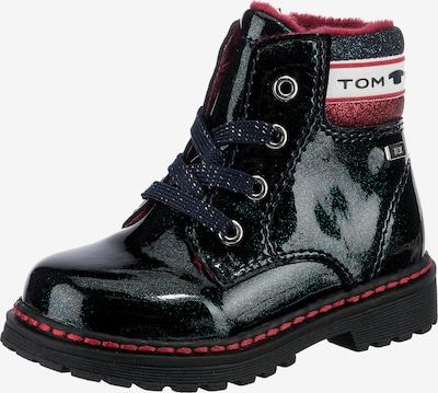 TOM TAILOR Stiefel in navy / rot / weiß, Produktansicht
