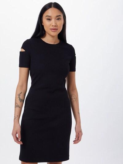 BOSS Casual Kleid in schwarz, Modelansicht