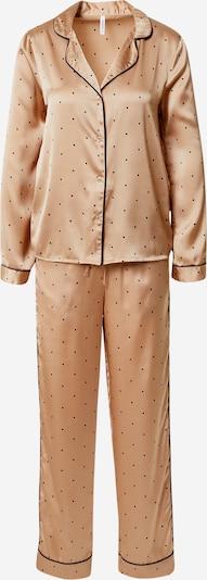 VERO MODA Pyžamo 'FANNY' - svetlohnedá, Produkt