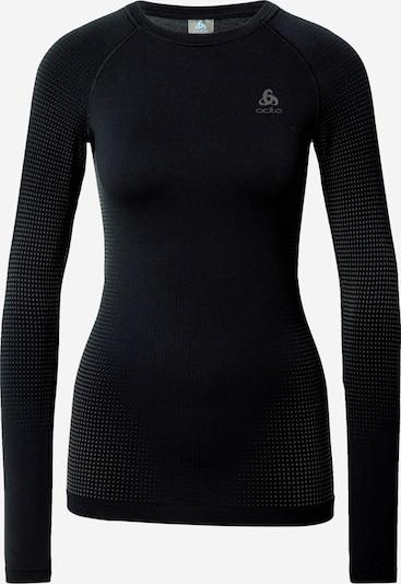 ODLO Sportshirt in schwarz: Frontalansicht