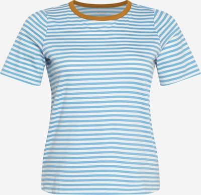 MY TRUE ME Shirt in Light blue / Caramel / White, Item view
