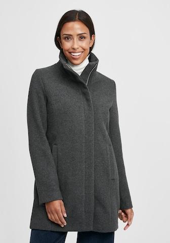 Oxmo Between-Seasons Coat in Grey