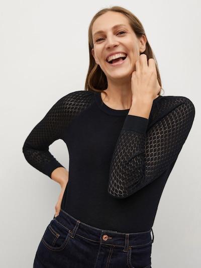MANGO Pullover 'ADALIO' in schwarz, Modelansicht