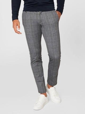 Pantalon bugatti en gris