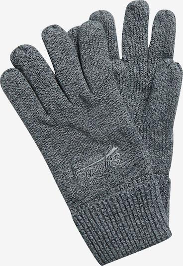 Superdry Vingerhandschoenen in de kleur Grijs, Productweergave