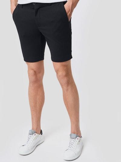 INDICODE JEANS Shorts 'Aalborg' in schwarz, Modelansicht