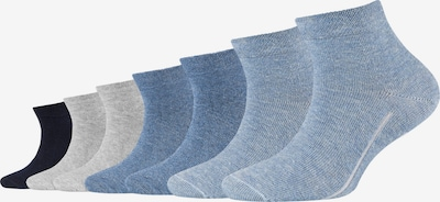 camano Socken in nachtblau / taubenblau / grau, Produktansicht