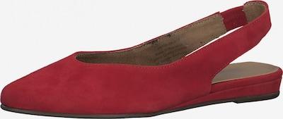 TAMARIS Slipper in rot, Produktansicht