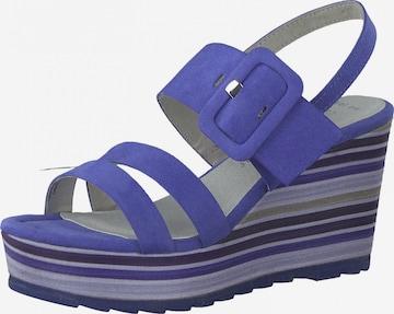 Sandales à lanières MARCO TOZZI en violet