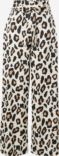 Lollys Laundry Hose 'Vicky' in hellbraun / schwarz / weiß, Produktansicht