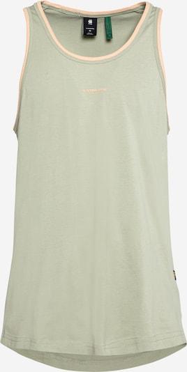 G-Star RAW Tričko 'Lash' - khaki / pastelově oranžová, Produkt
