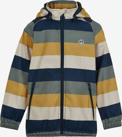 MINYMO Jacke in creme / blau / gelb, Produktansicht