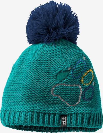 JACK WOLFSKIN Mütze in blau / türkis, Produktansicht