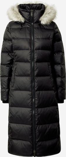 TOMMY HILFIGER Wintermantel 'Tyra' in de kleur Zwart / Offwhite, Productweergave