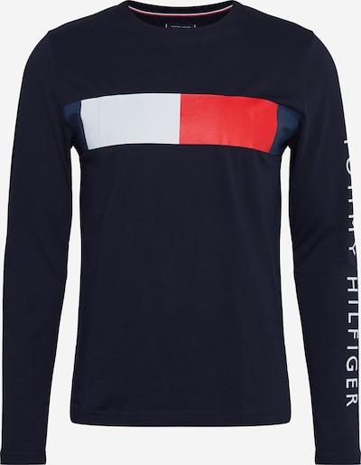 Tricou TOMMY HILFIGER pe albastru noapte / roșu / alb, Vizualizare produs