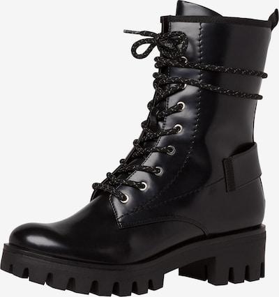 TAMARIS Lace-up boot in black, Item view