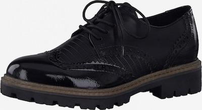 MARCO TOZZI Обувки с връзки в черно, Преглед на продукта