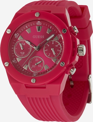 GUESS Uhr 'ATHENA' in Pink