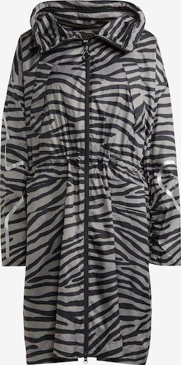 adidas by Stella McCartney Abrigo de montaña en gris / negro, Vista del producto